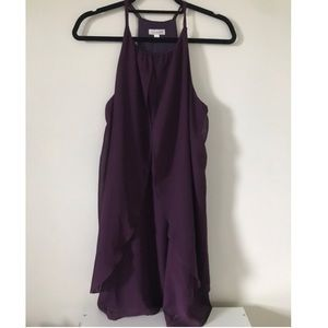 Purple Charming Charlie's Cocktail Dress
